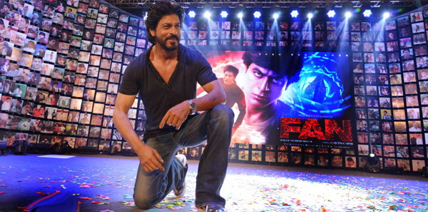 Shahrukh Khan Trailer Launch of film Fan-13