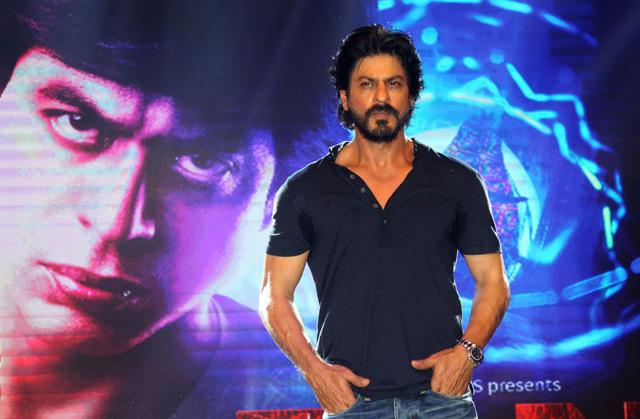Shahrukh Khan Trailer Launch of film Fan-44