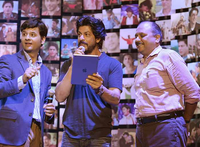 Shahrukh Khan Trailer Launch of film Fan-47