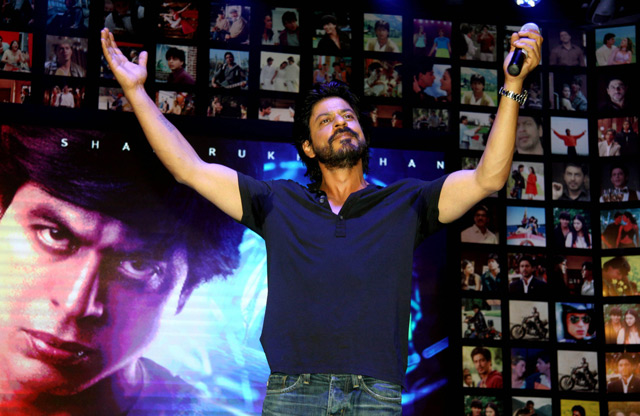 Shahrukh Khan Trailer Launch of film Fan-48