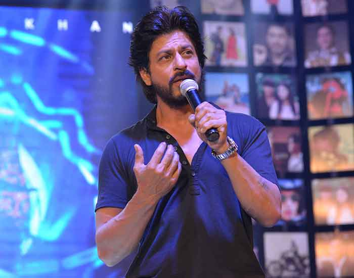 Shahrukh Khan Trailer Launch of film Fan-64