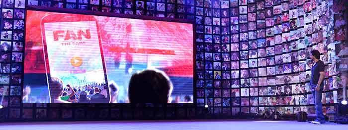 Shahrukh Khan Trailer Launch of film Fan-70