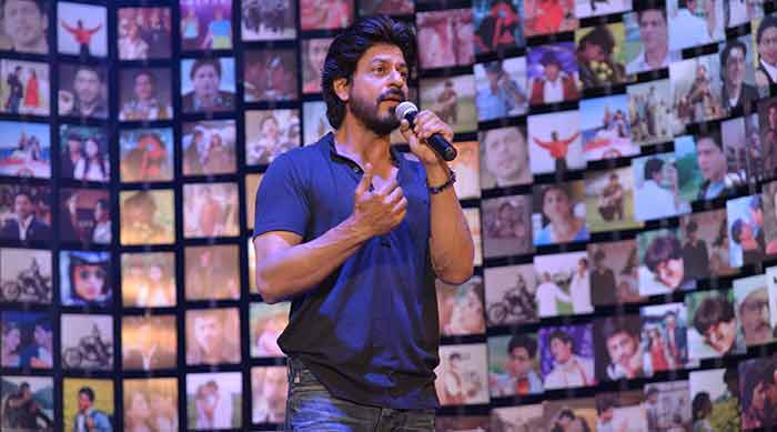Shahrukh Khan Trailer Launch of film Fan-71