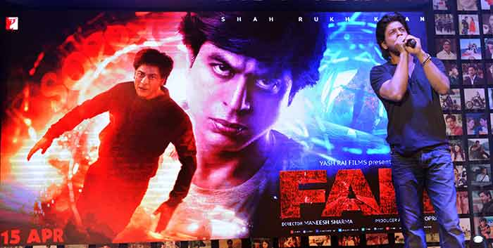 Shahrukh Khan Trailer Launch of film Fan-73