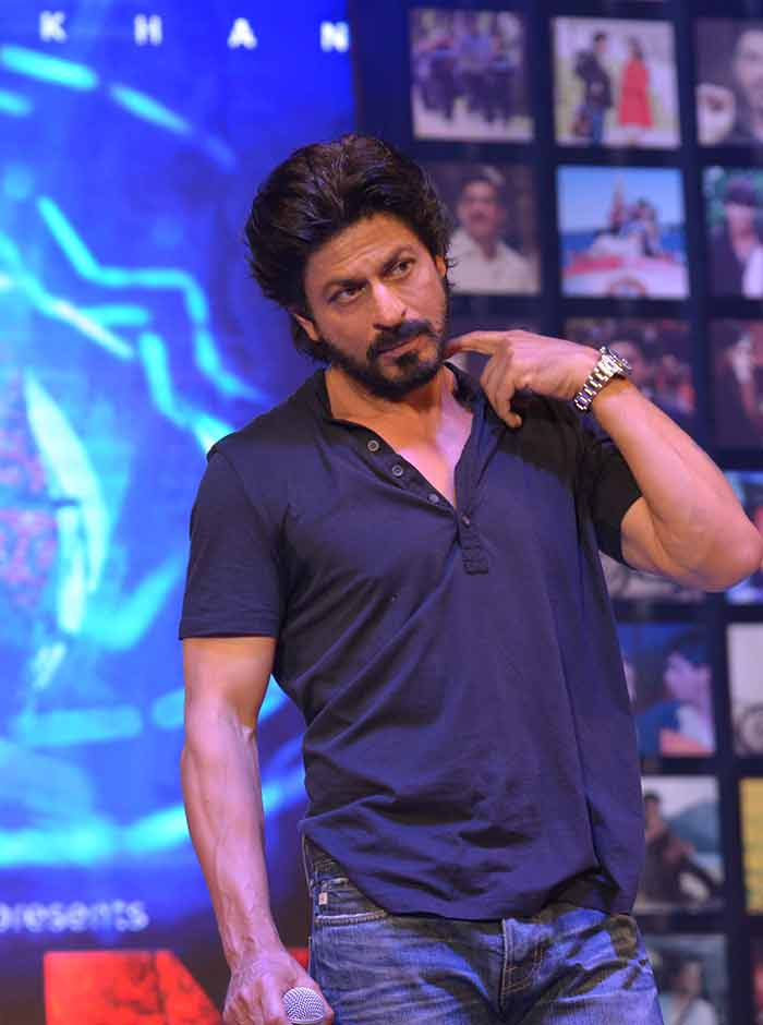 Shahrukh Khan Trailer Launch of film Fan-78