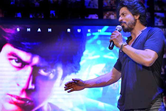 Shahrukh Khan Trailer Launch of film Fan-80