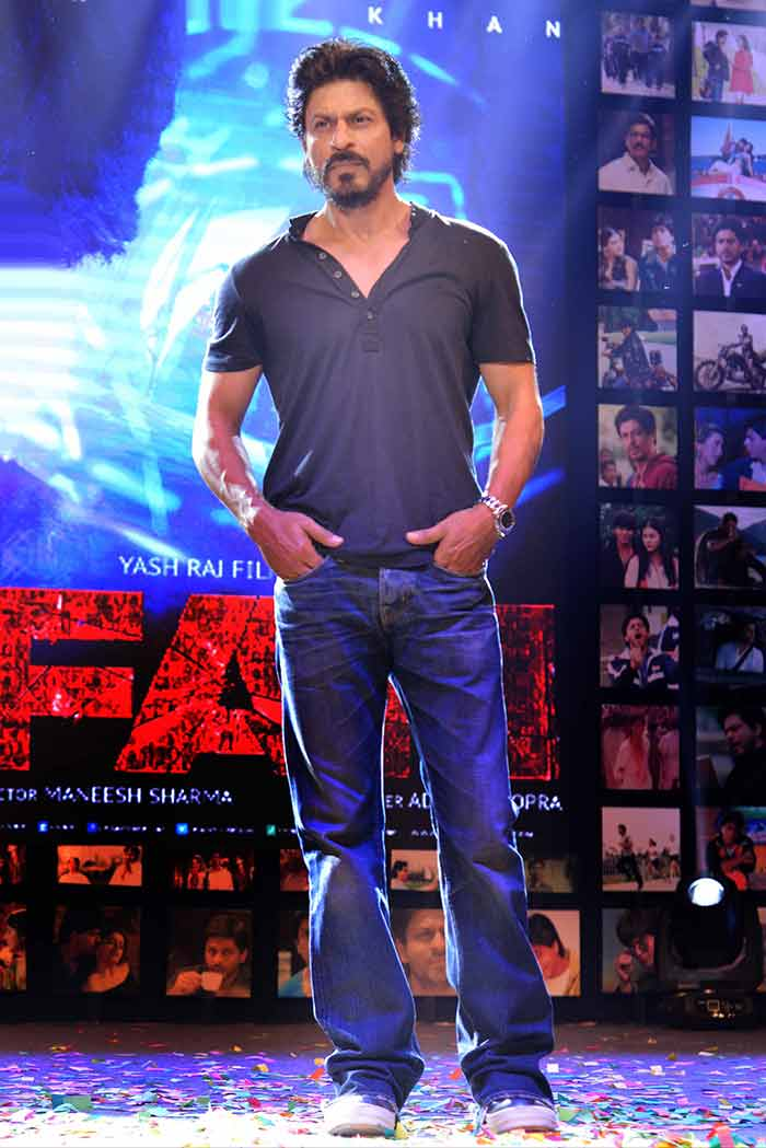 Shahrukh Khan Trailer Launch of film Fan-84