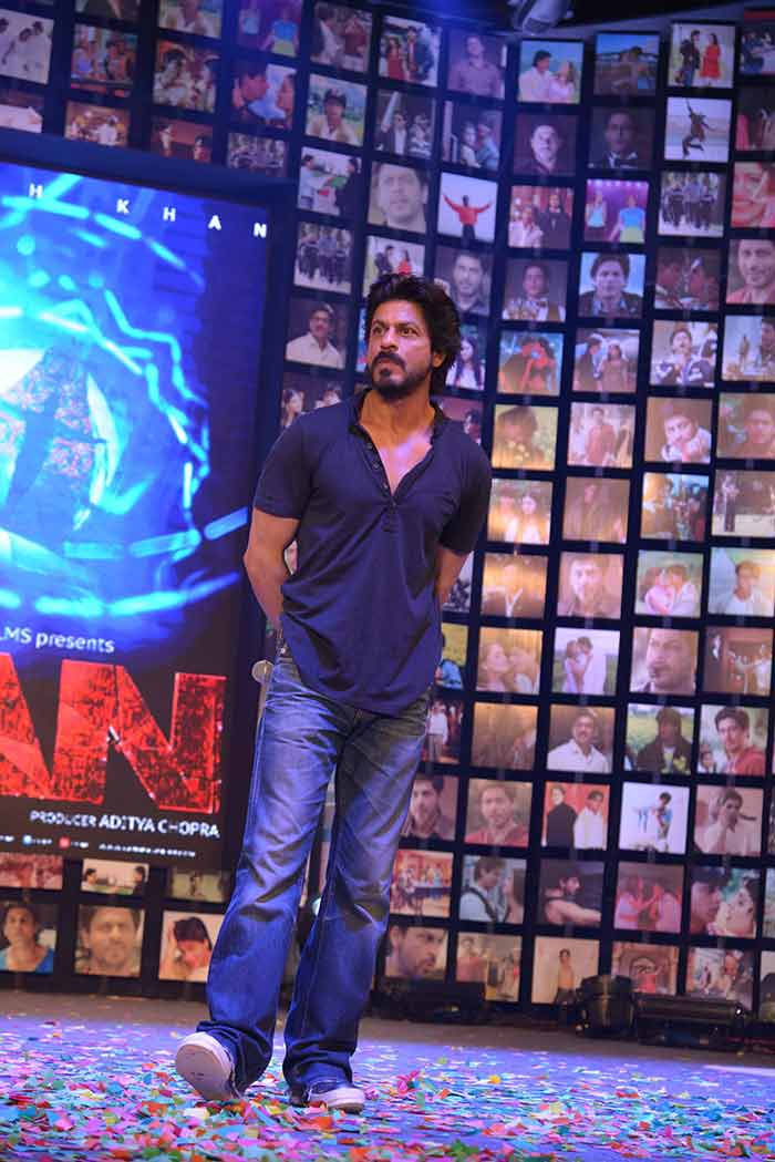 Shahrukh Khan Trailer Launch of film Fan-85