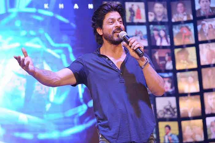 Shahrukh Khan Trailer Launch of film Fan-91
