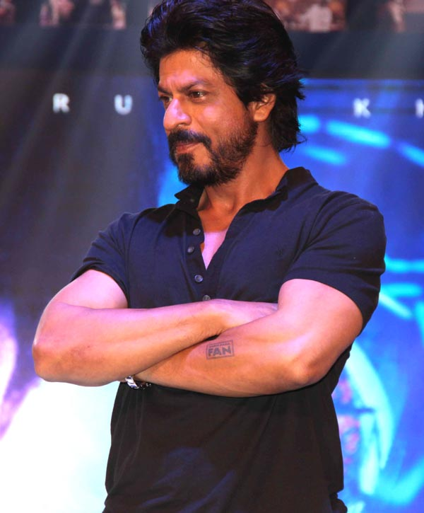 Shahrukh Khan Trailer Launch of film Fan-94