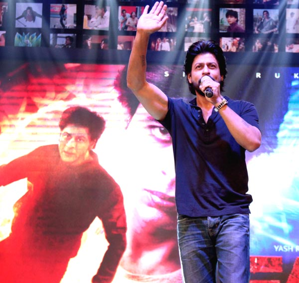 Shahrukh Khan Trailer Launch of film Fan-97