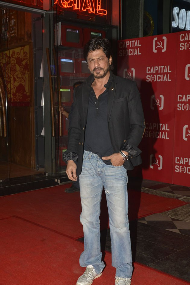 Shahrukh Khan, Varun Dhawan and Shriya Saran attended The party at Capital Social