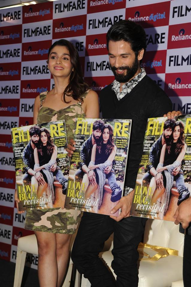 Shandaar : Alia Bhatt and Shahid Kapoor Launches Filmfare Magazine Cover
