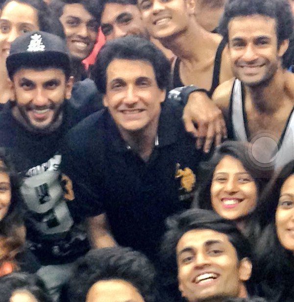 Shiamak Davar Snapped with Bollywood Stars