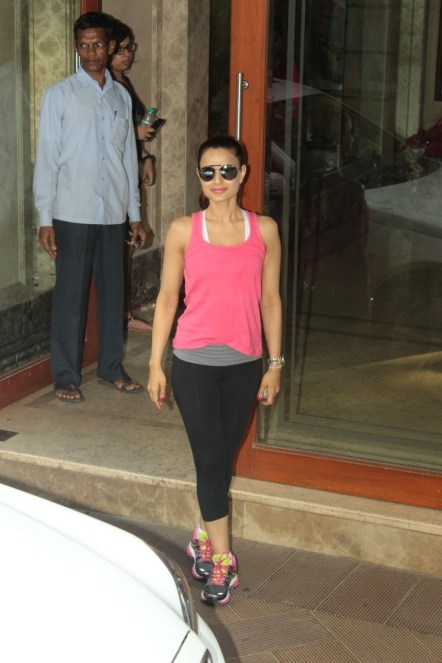 Shilpa Shetty Meets to Sanjay Dutt at His Home