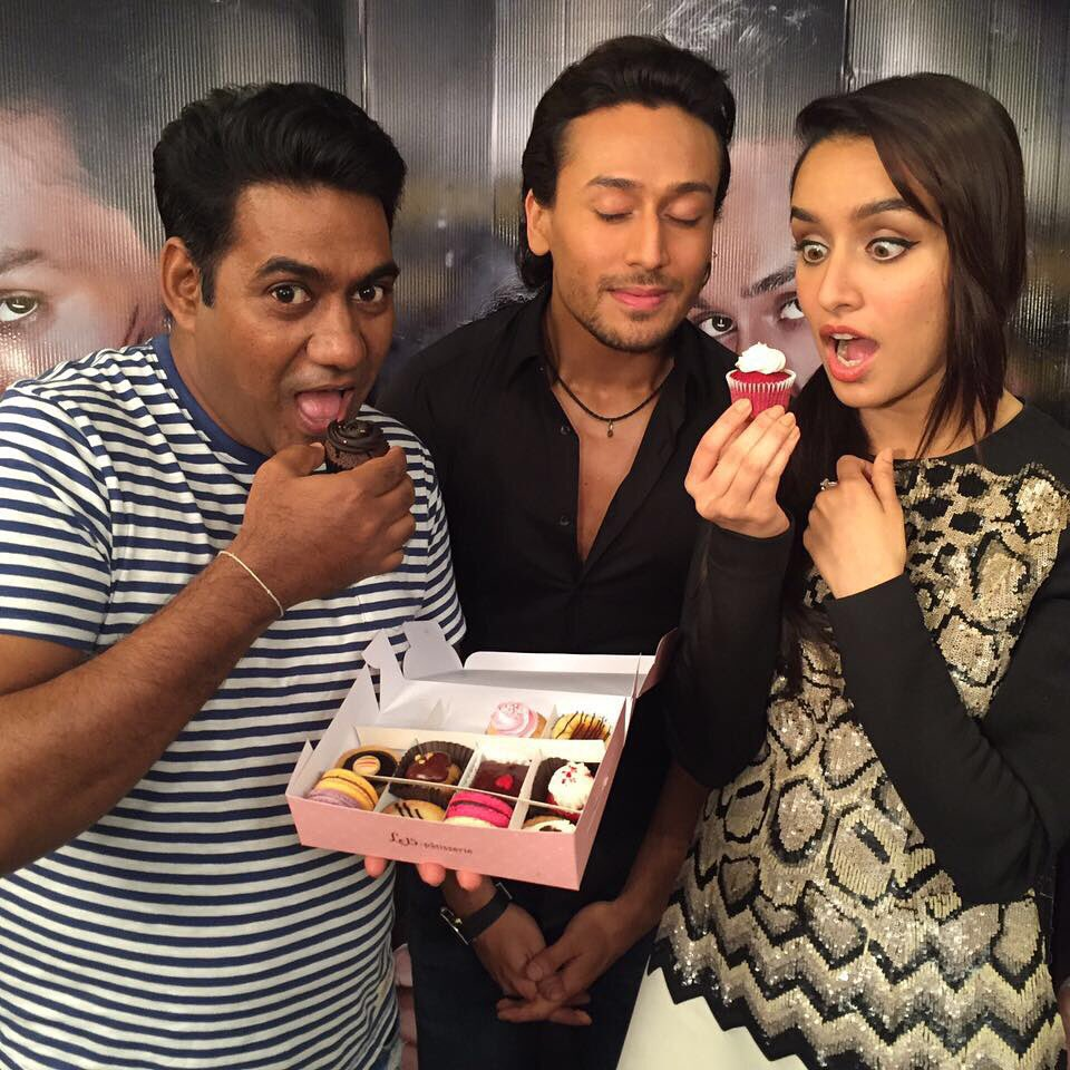 Shraddha Kapoor at Baaghi Promotions Event