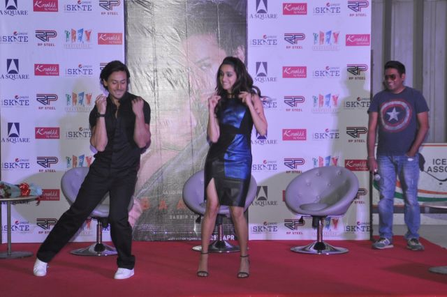 Shraddha Kapoor promoted Baaghi Movie in New Delhi