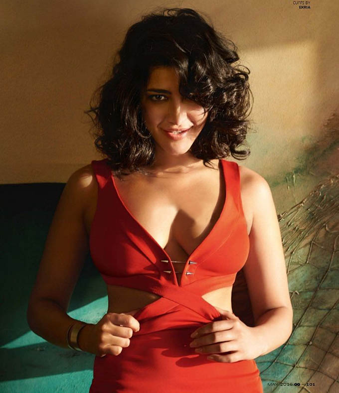 Shruti Hassan Hot Photoshoot For GQ Magazine May 2016