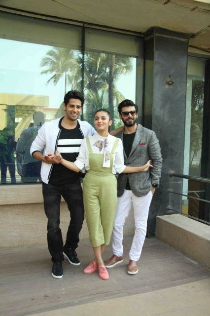 Siddharth Malhotra, Alia Bhatt & Fawad Khan Promotions of Kapoor and Sons