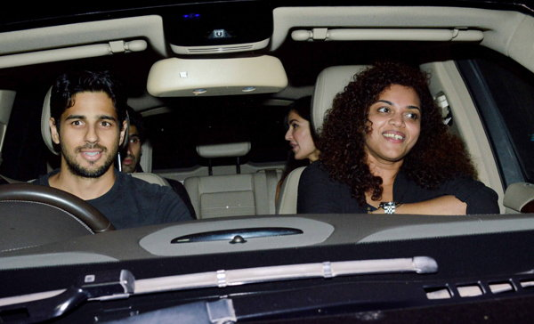Siddharth, Sushant & Sooraj Special Screening of Fitoor Movie