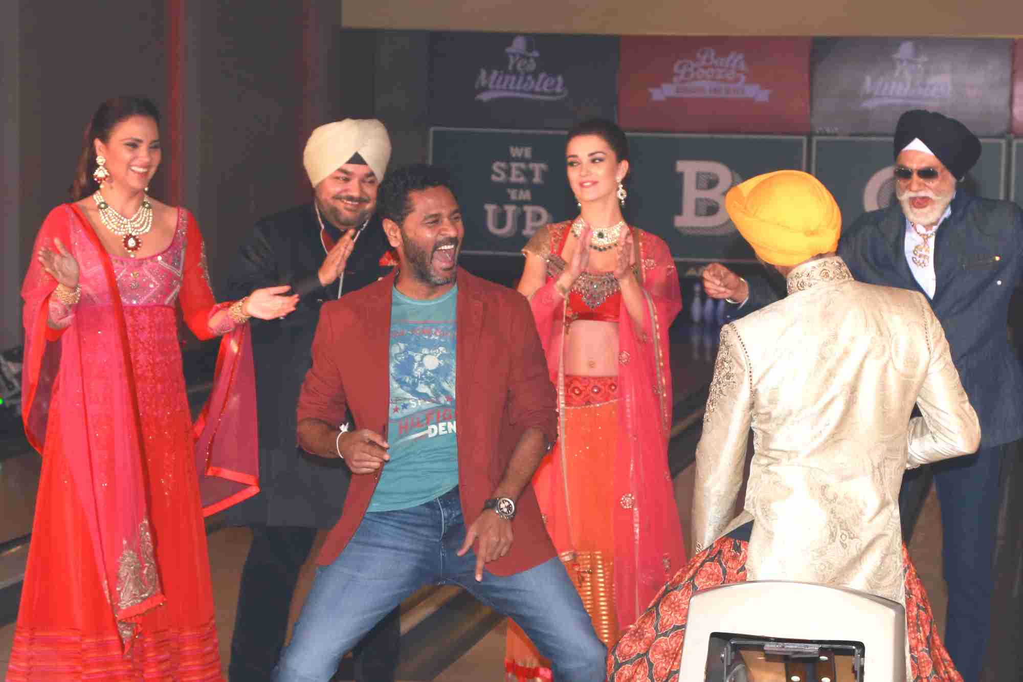 Singh Is Bling Movie Cast at Style And The Sikh Event in New Delhi