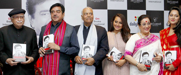 Sonakshi Shines at Daddy Shatrughans Book Launch