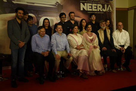 Sonam Kapoor at Press Conference of film Neerja in Mumbai