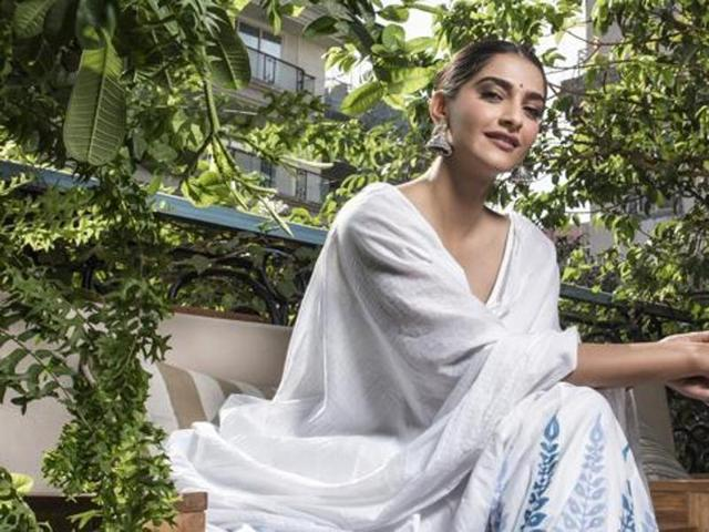 Sonam Kapoor Special Look for Her Birthday Interview