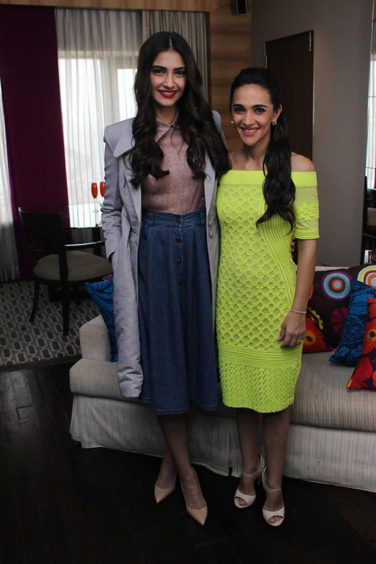 Sonam Kapoor & Tara Sharma