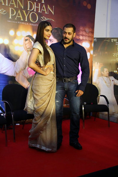 Sonam & Salman Promoted Prem Ratan Dhan Payo Movie