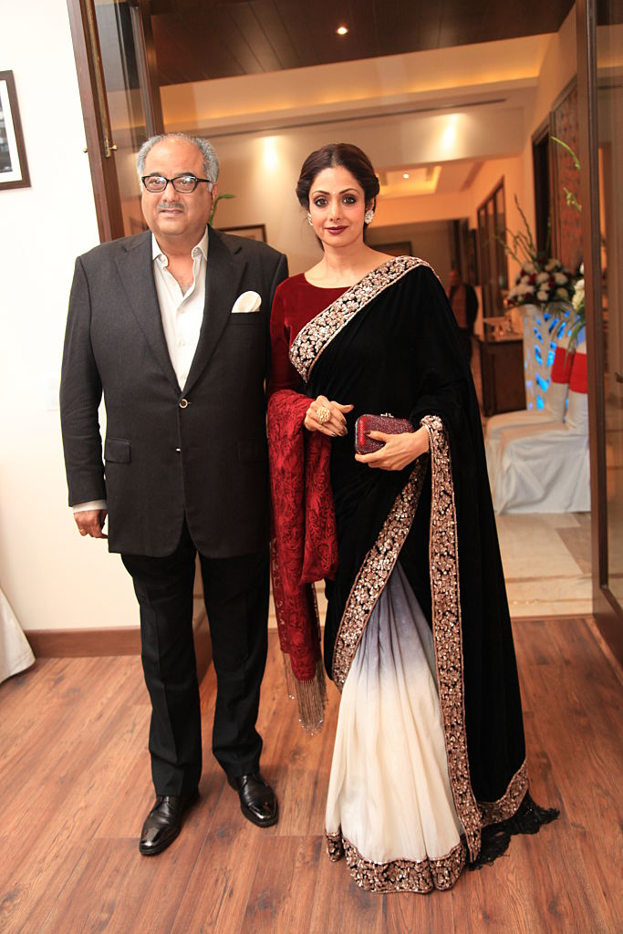 Sridevi at DLF Chattarpur Farms