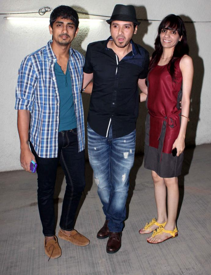 Stars At Chashme Buddoor Special Screening