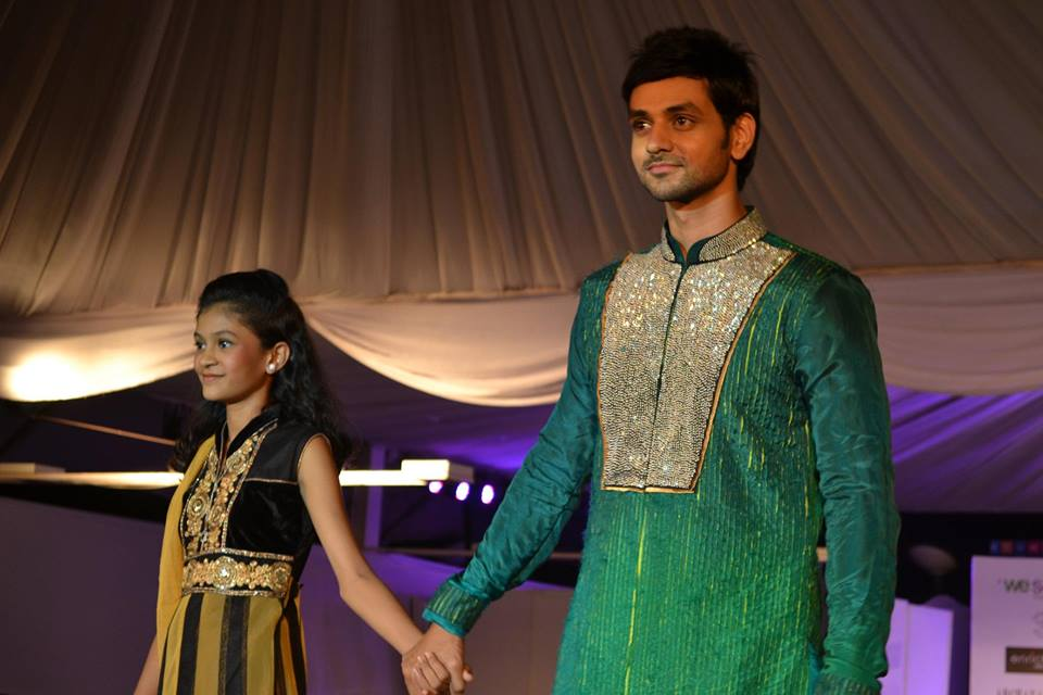 Stars Ramp Walk at The Global Peace Initiative 2014