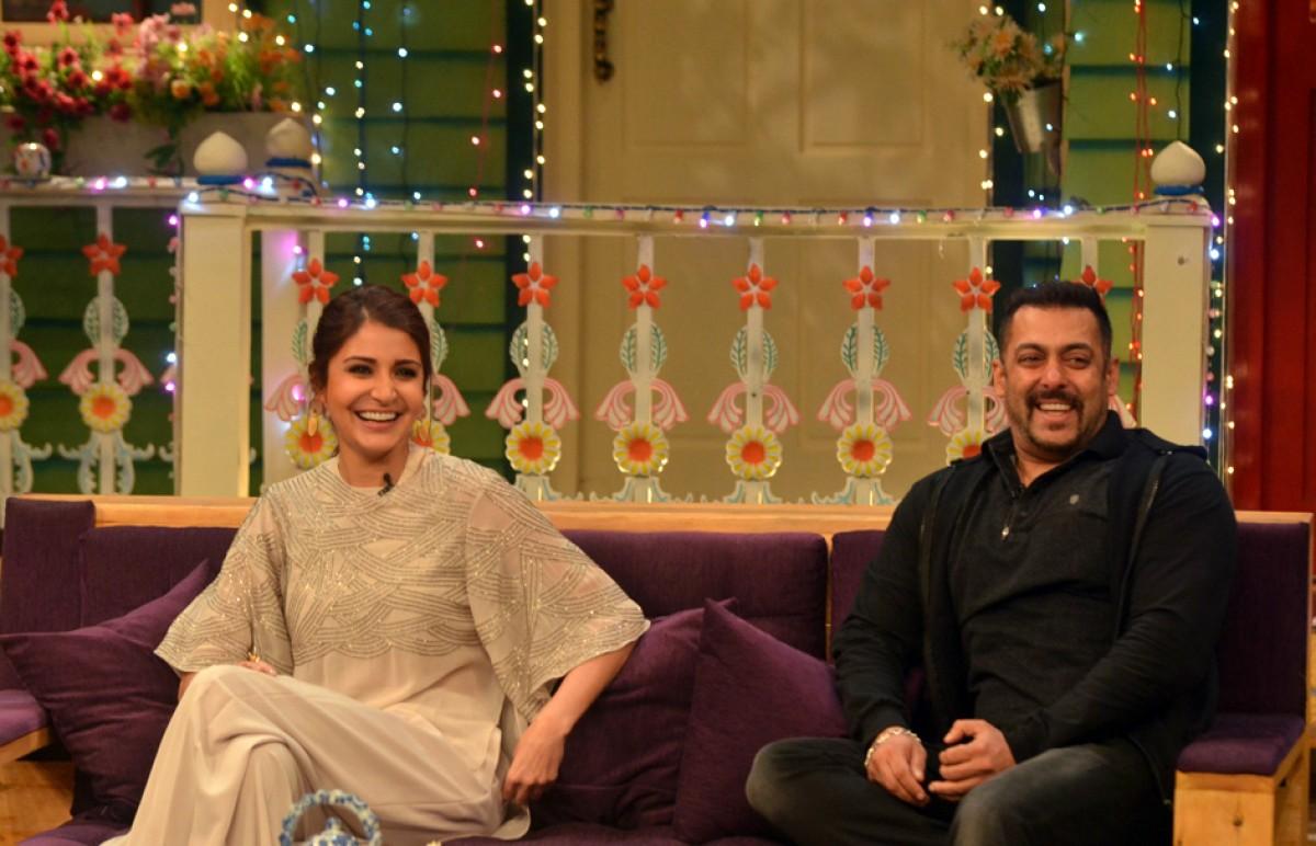 Anushka Sharma & Salman Khan