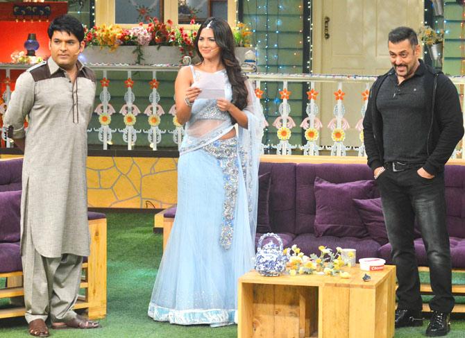 Kapil Sharma, Kapil Sharma & Rochelle Maria Rao