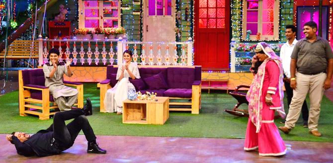 Salman Khan & Ali Asgar