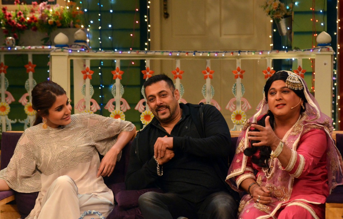 Salman Khan, Anushka Sharma & Ali Asgar