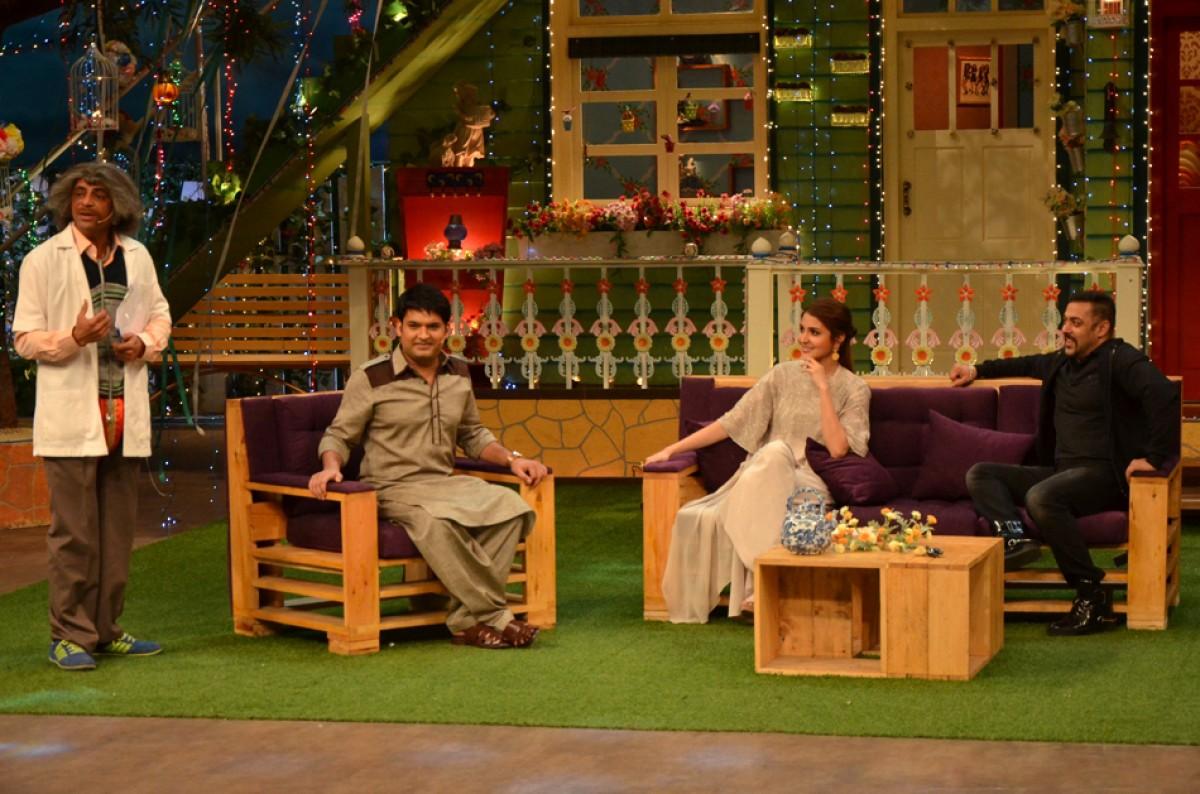Salman Khan, Anushka Sharma, Kapil Sharma & Sunil Grover