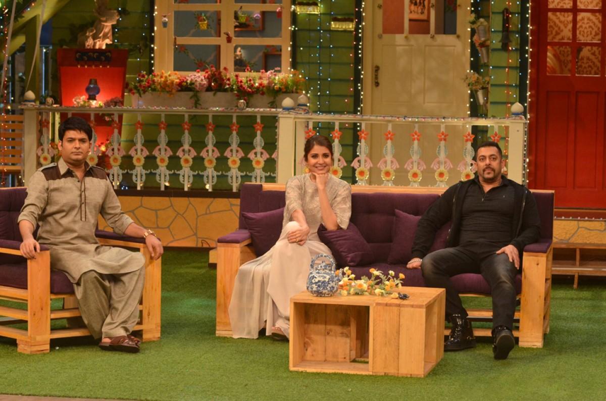 Salman Khan, Anushka Sharma & Kapil Sharma