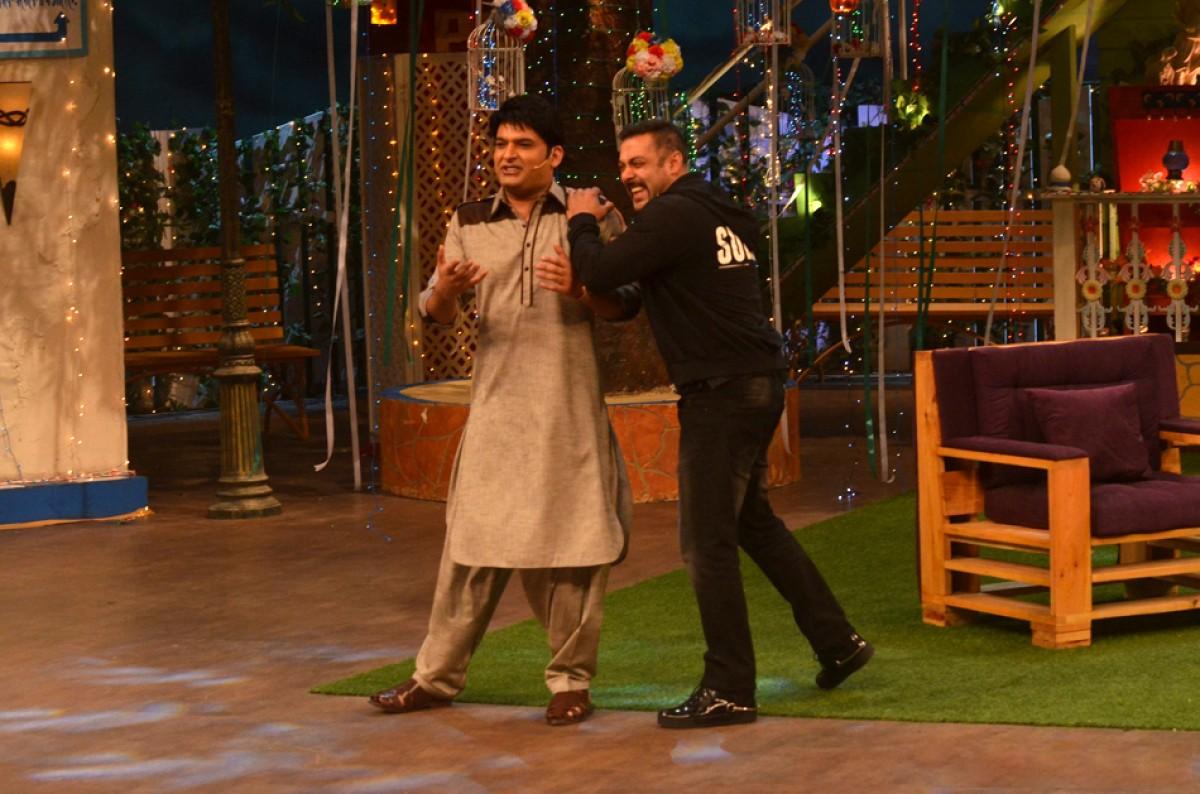 Salman Khan & Kapil Sharma