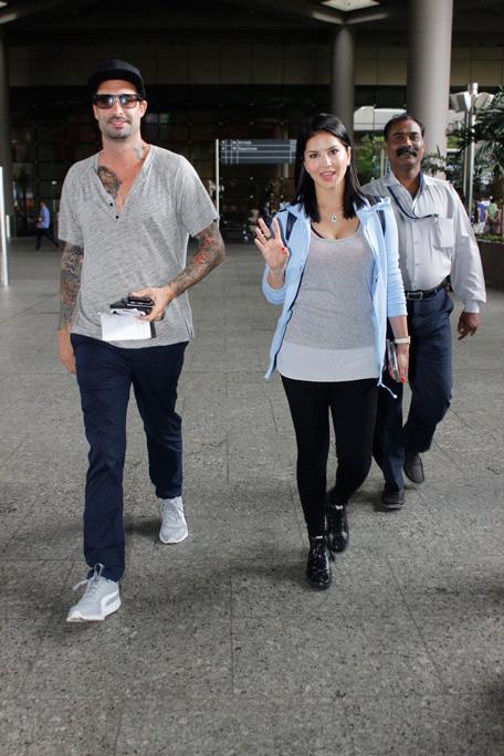 Sunny Leone & Daniel Webber