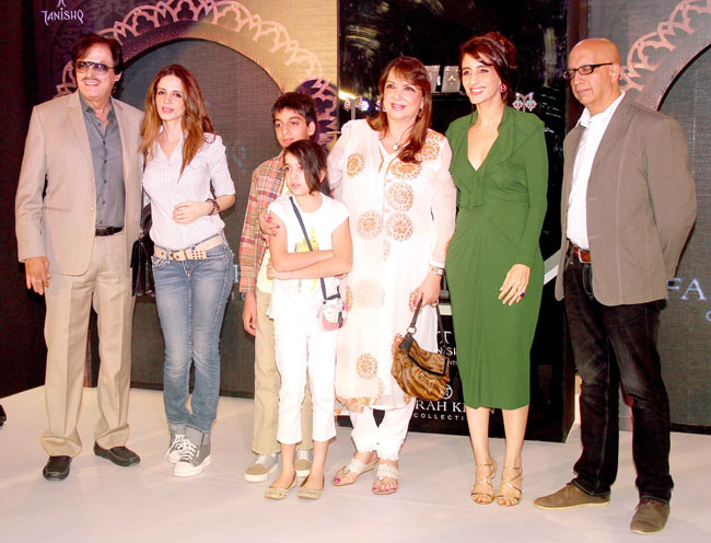Sussanne Roshan Launch of Tanishq Collection