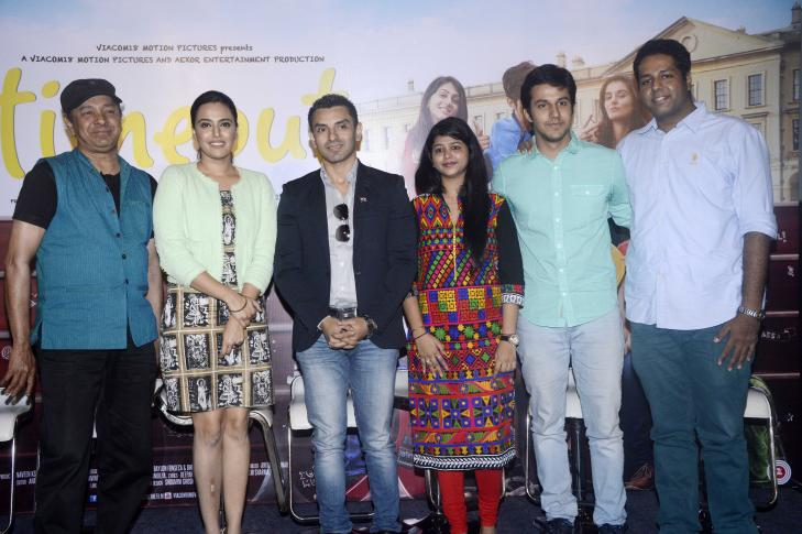 Swara Bhaskar Trailer Launch of film Time Out in Mumbai