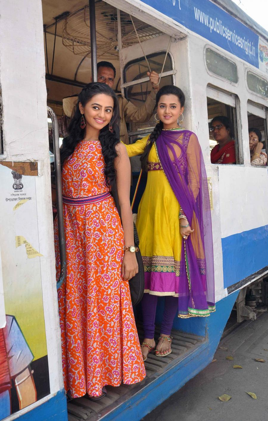 Swaragini Serial Shooting in Kolkata