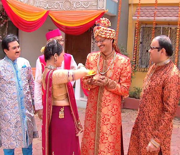 Dilip Joshi, Disha Wakani, Amit Bhatt & Shyam Pathak