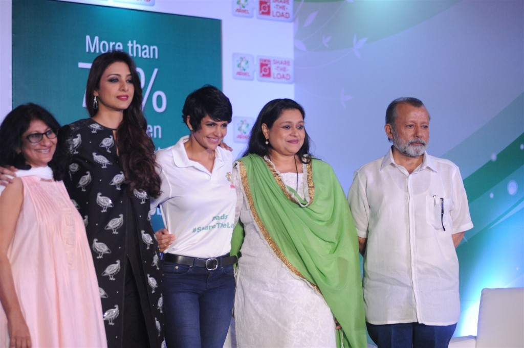 Tabu at Ariel Event in Mumbai for International Women Day