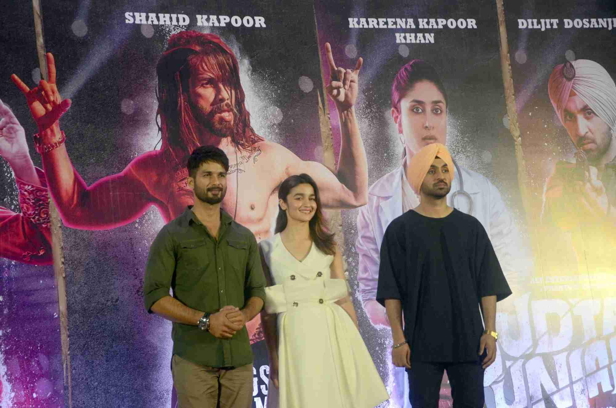 Team Udta Punjab at The Press Conference