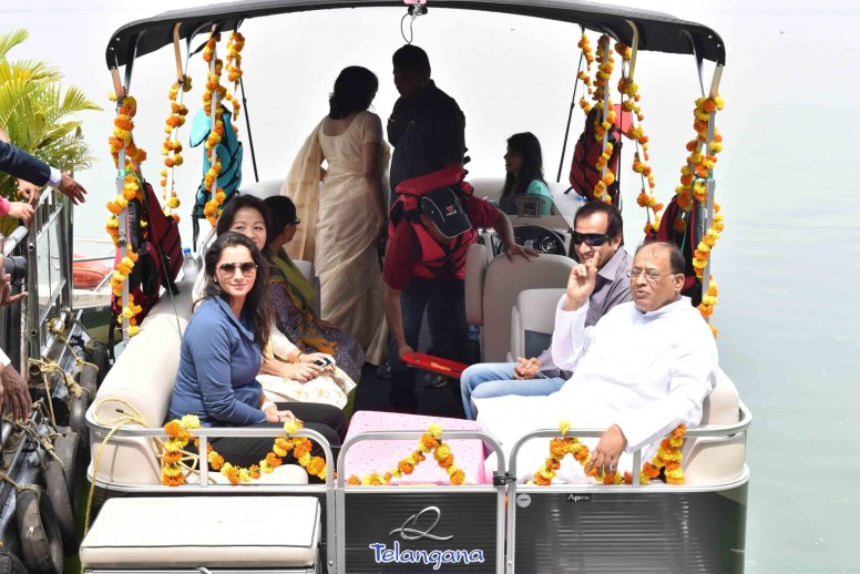 Telangana Tourism Launches Luxury Yacht Rides at Hussain Sagar in Hyderabad
