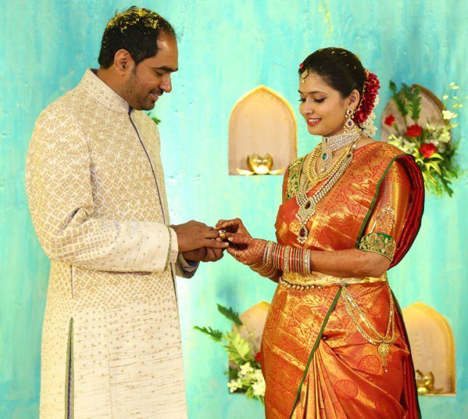 Filmmaker Krish got engaged to Ramya Velaga