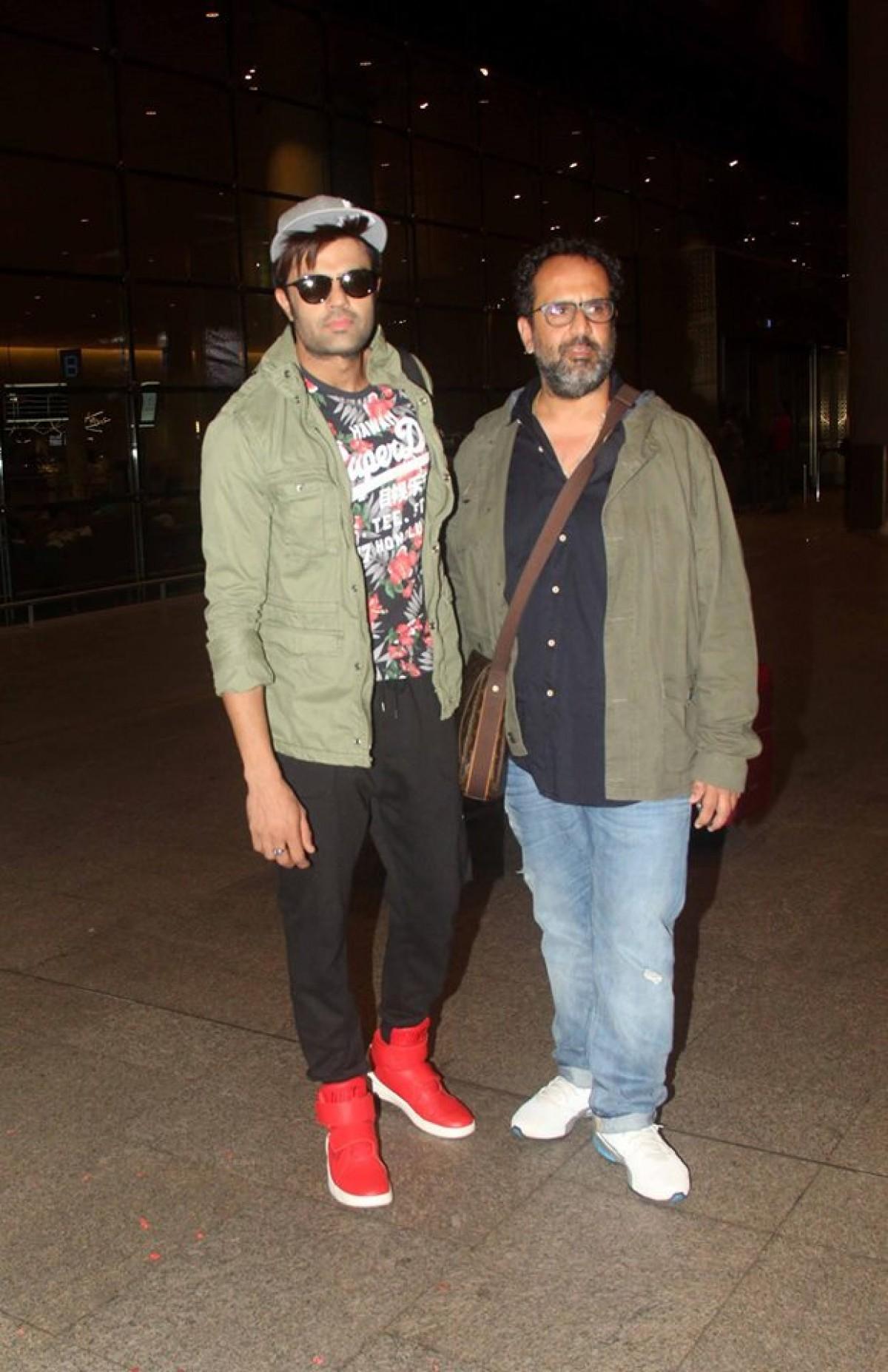 Manish Paul & Anand L. Rai